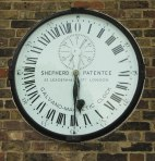 Clock, Royal Observatory, Copyright Christine Matthews and licensed for reuse under this Creative Commons Licence